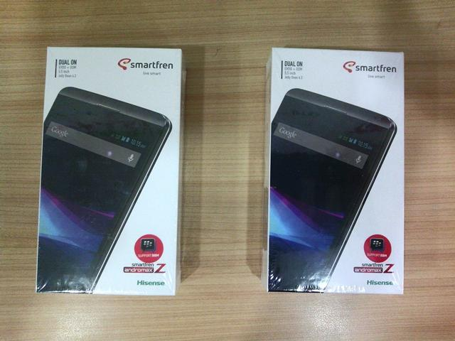 """Smartfren Andromax Z 5,5"""" (HD 5,5"""" with Dolby Digital Plus)"""