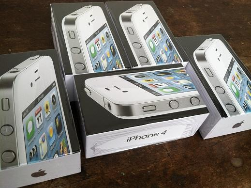 JUAL iphone 4 cdma 16GB white/putih like NEW murah COD bandung garansi