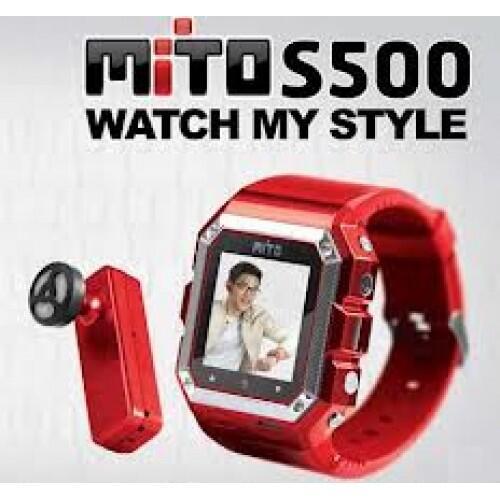 Dijual handphone Mito S500 berbentuk jam tangan harga bersahabat