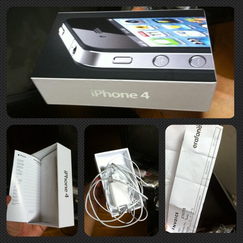 Terjual JUAL IPHONE 4 GSM 8 GB (SECOND) BARU 2 BULAN  c74c2d155d