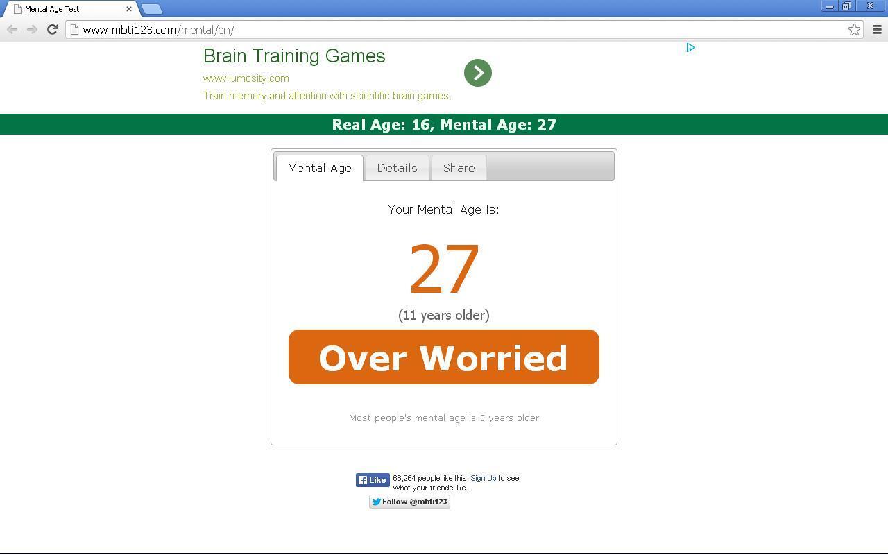 """ayo gan, tes seberapa tua mental ente di """"Mental Age Test"""""""