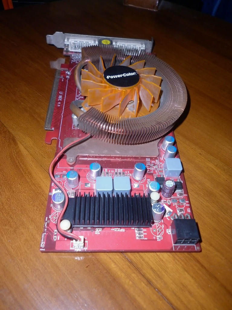 Pcie Power Color HD3850 Kondisi Seadanya (solo-klaten)