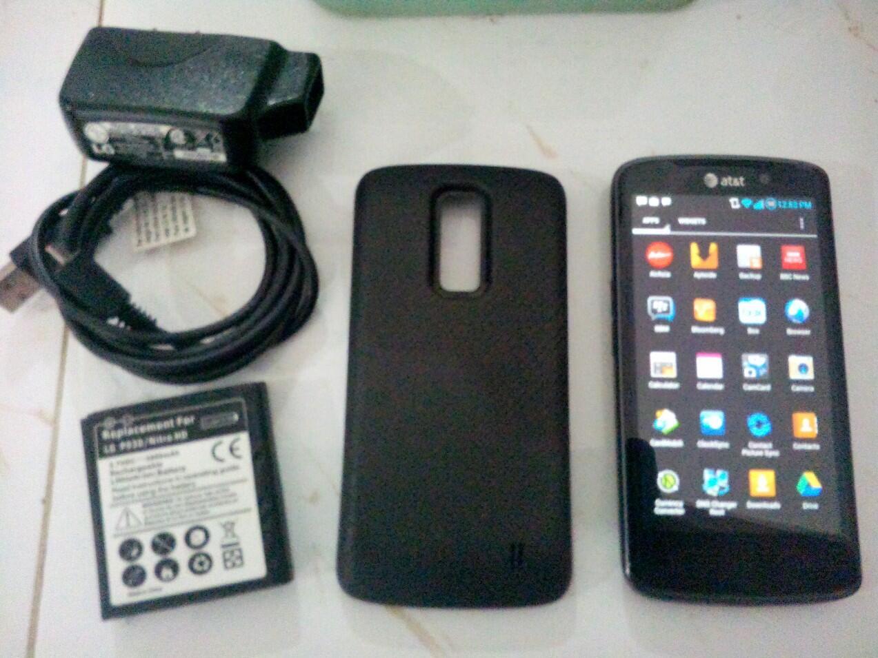 LG Nitro HD P930 Nexus