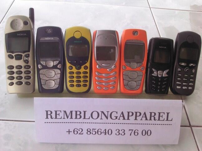 [REMBLONG]Jual Koleksi Ane Nokia 5110,Nokia 5210,Nokia 3315,Nokia 3310,Siemens M35