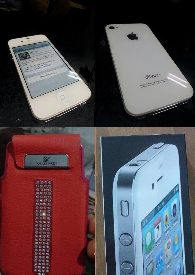 IPHONE 4 8GB FU SES & LENOVO A 706 22NYA MASIH GARANSI 10BULAN
