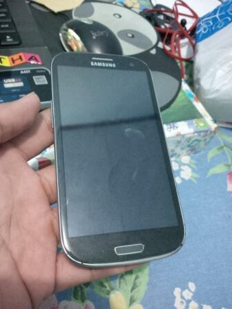 Samsung Galaxy S3 GT-I9300 Grey SEIN, Fullshet.. 3.3k aja.. Bisa TT..