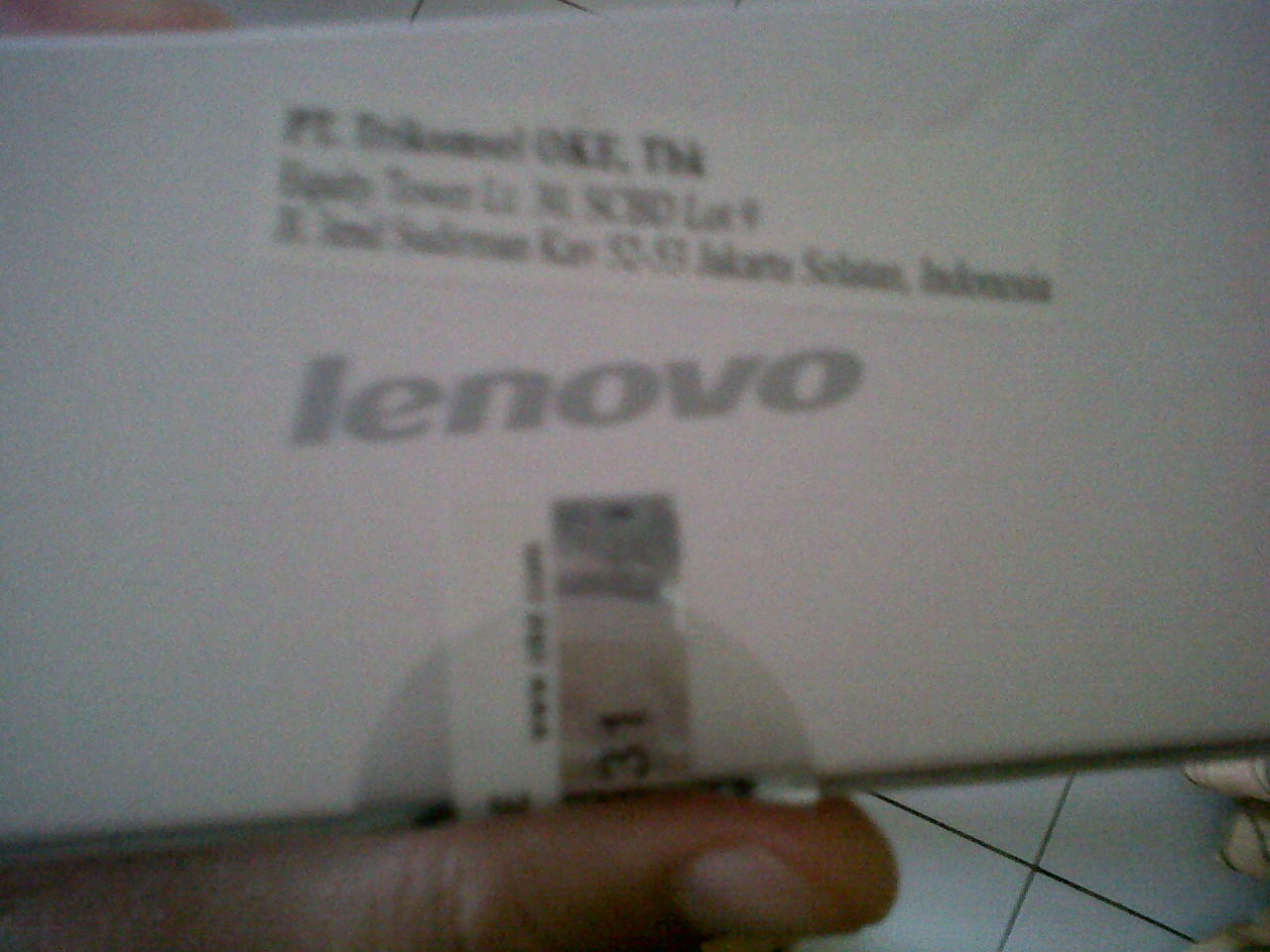 Lenovo A690 Black BNIB Segel Trikomsel Palembang + Bonus