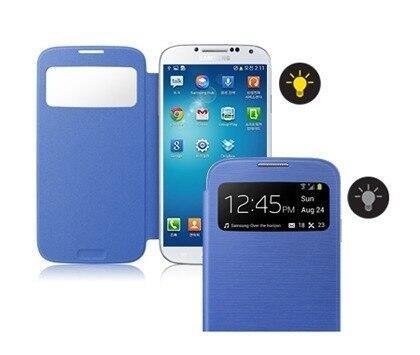 Flip cover original Samsung for S4, Note 3, auto lock dan S-View jalan, ada bonusnya