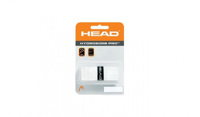 HEAD HyDrOsOrB PRO TeNnis REPLACEMENT Grip 1.7 Mm SwEaT ABSORPTION wHiTe 100% GENUINE