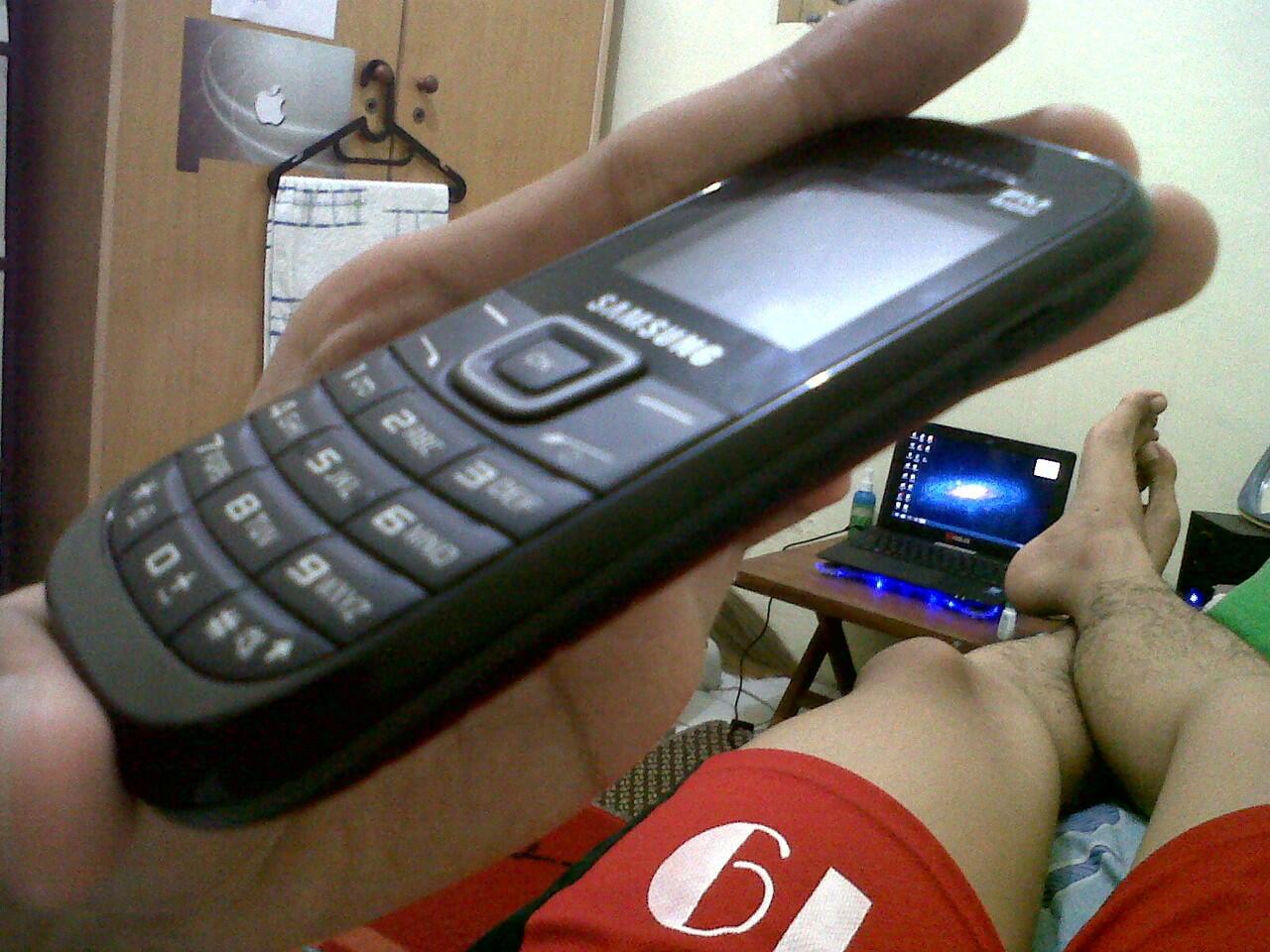 Samsung Keystone 2 1205 Solo Mulus Garansi Panjang