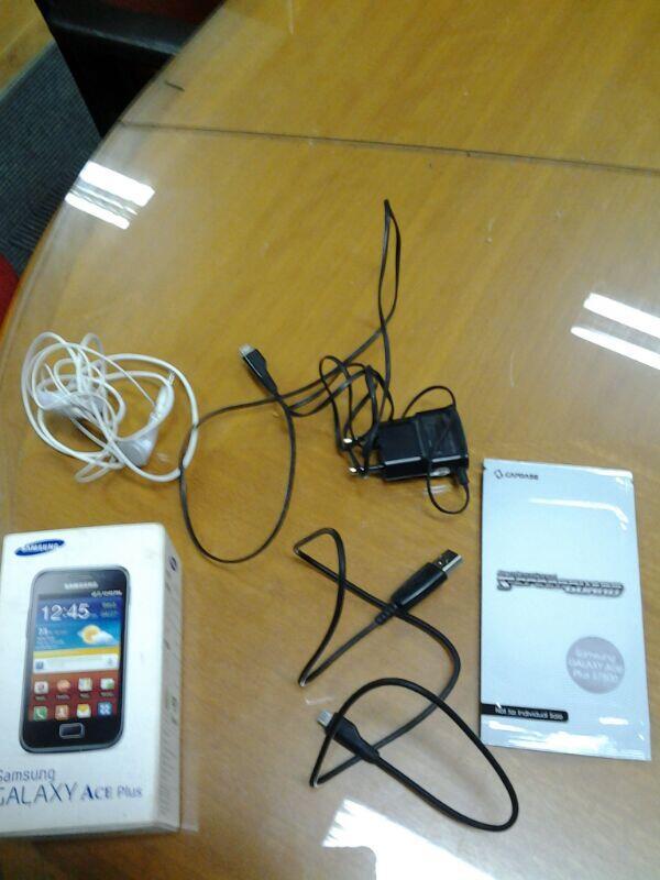 [JUAL] Galaxy Ace Plus GT-S7500 White - Mulus & Lengkap