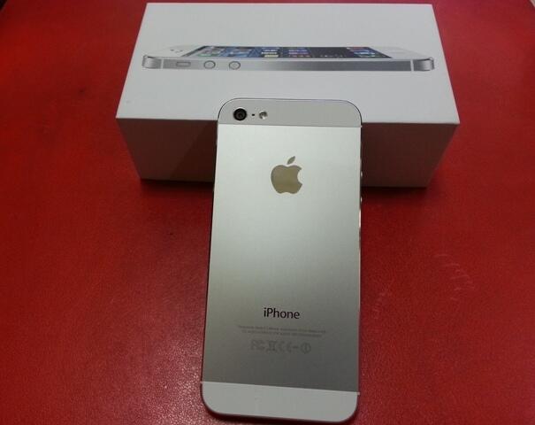 iPhone 5 64GB White, fullset, mulus