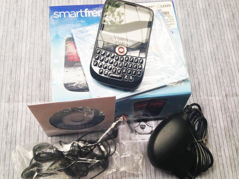 HP Smartfren Browser Dual On GSM CDMA ZTE CD981Z Qwety Modem Semarang