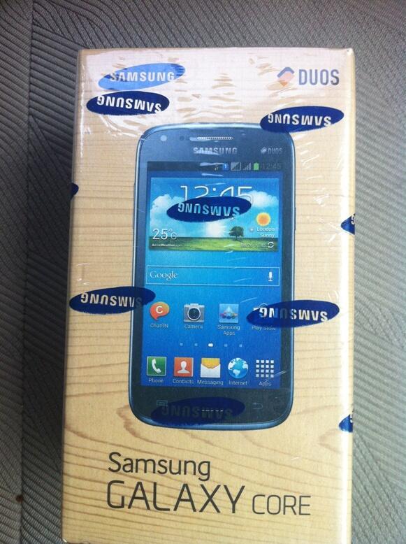 BNIB Samsung Galaxy Core I8262 (White)