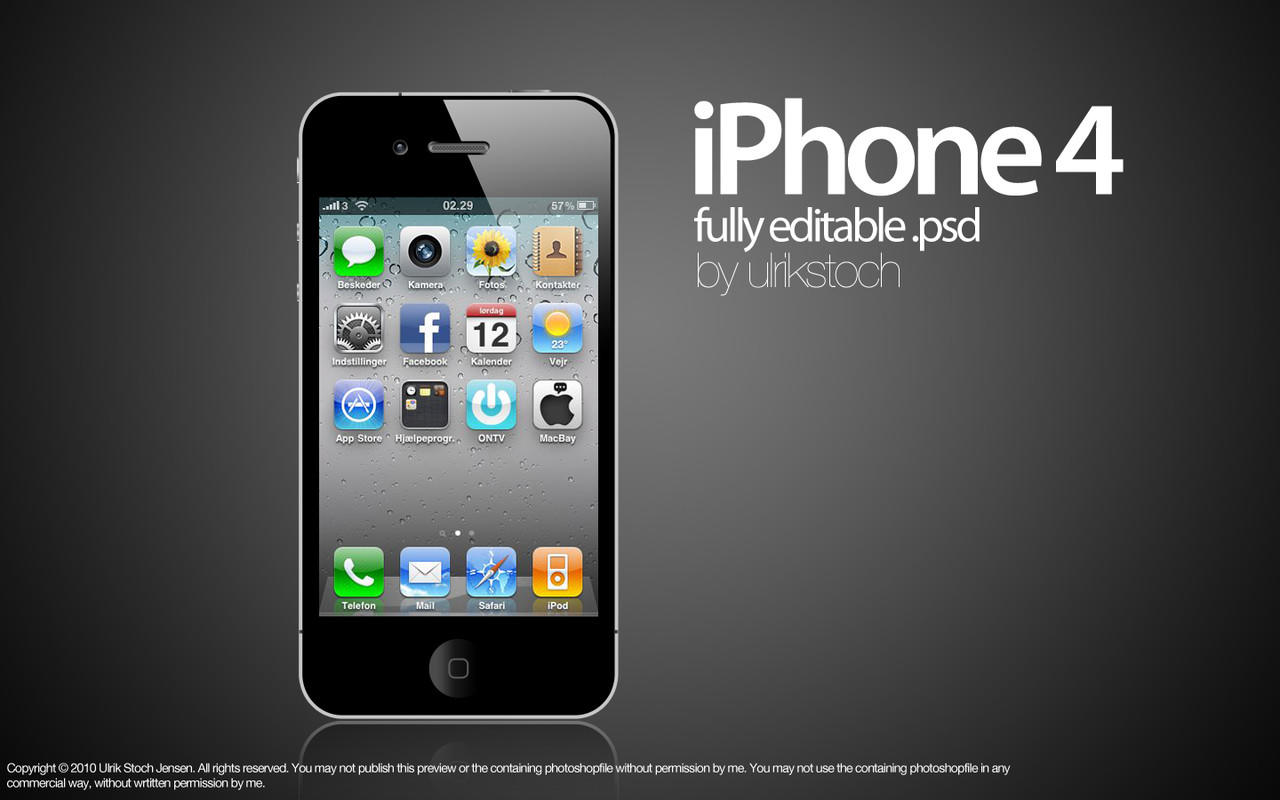 iPhone 4 Cdma 32Gb Black Verizon, Ga Pake Mahal [Surabaya]