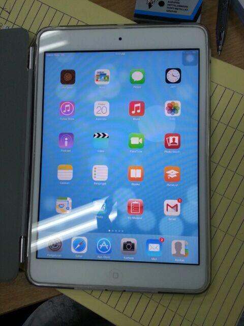 wts iPad mini 3g 32gb full set + bonus