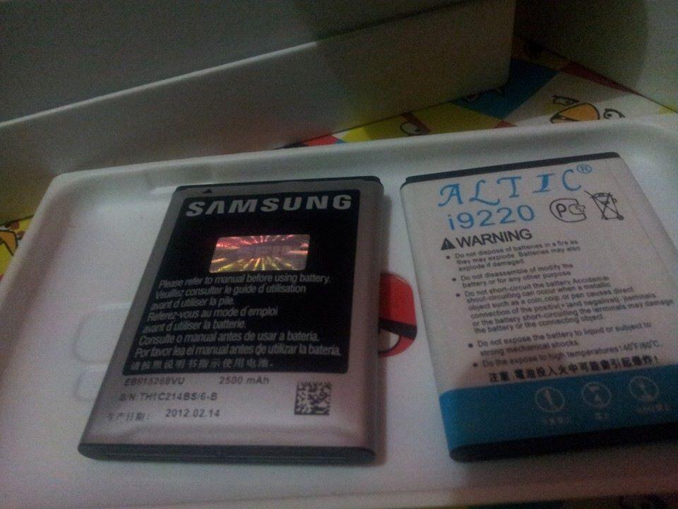 WTS Samsung Galaxy Note 1 (N7000) Bogor Murah