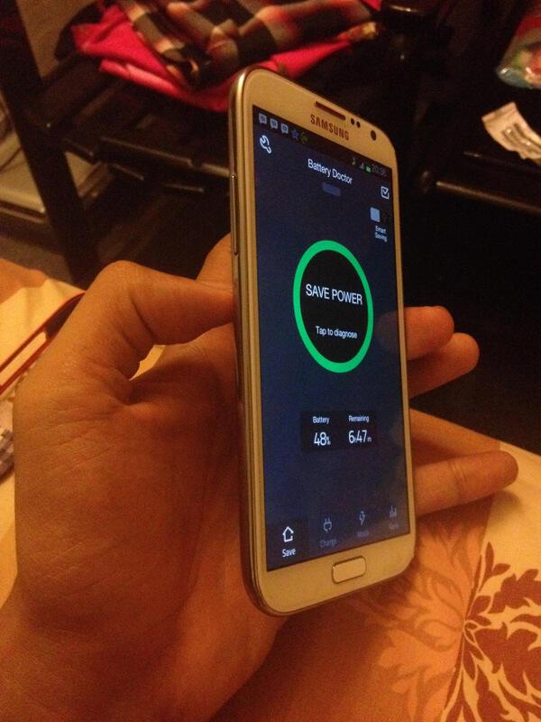 Galaxy Note 2 n7100 WHITE Fullset harga batangan + Bonus ( Makassar )