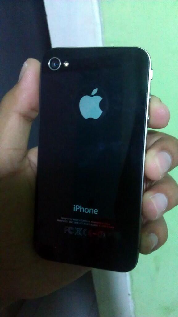 WTS iphone 4G 16Gb mulus lengkap ios 7.0.4