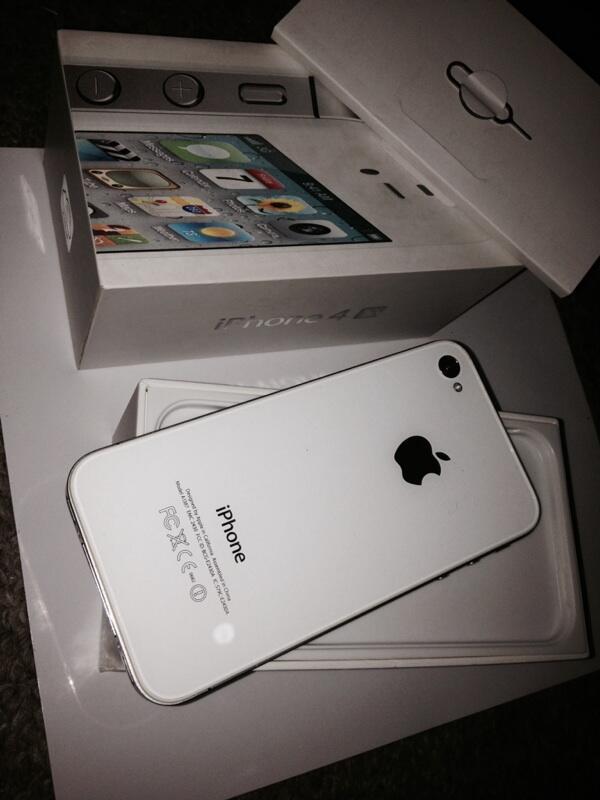iPhone 4s white 32Gb mulus bandung