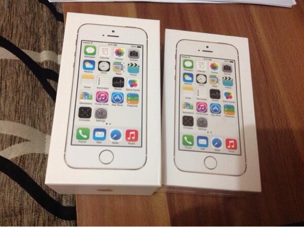 WTS iPhone 5S GOLD 32GB BNIB, NEW, FU Jakarta COD