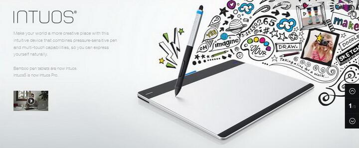 Wacom Intuos Pen Tablet CTL-480