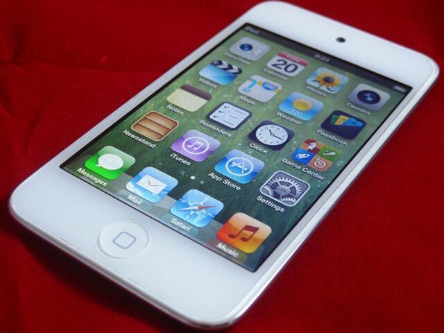 ★ iPod Touch 4th 16GB (White Edition) ★ iOS 6.1.5 (NOJB)|Mulus 95% cuma 1jt-an