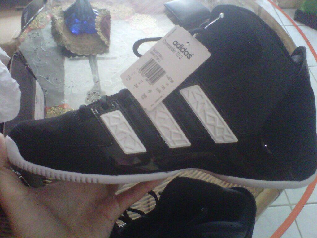 BNIB Sepatu Basket Adidas TD3 Commander Original MURMER (jual kekecilan)