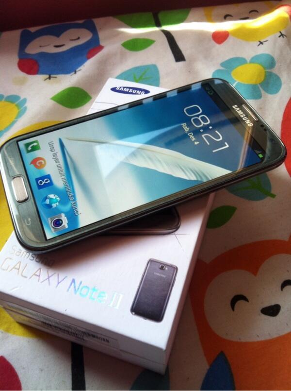 Samsung galaxy NOTE 2 Titanium grey SEIN