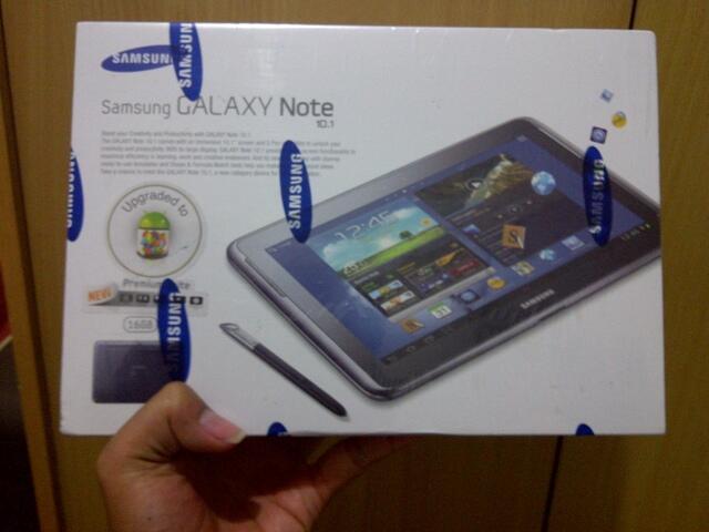 [BARTER/JUAL] Samsung Galaxy Note 10.1-Grey Generasi Pertama (SEGEL)