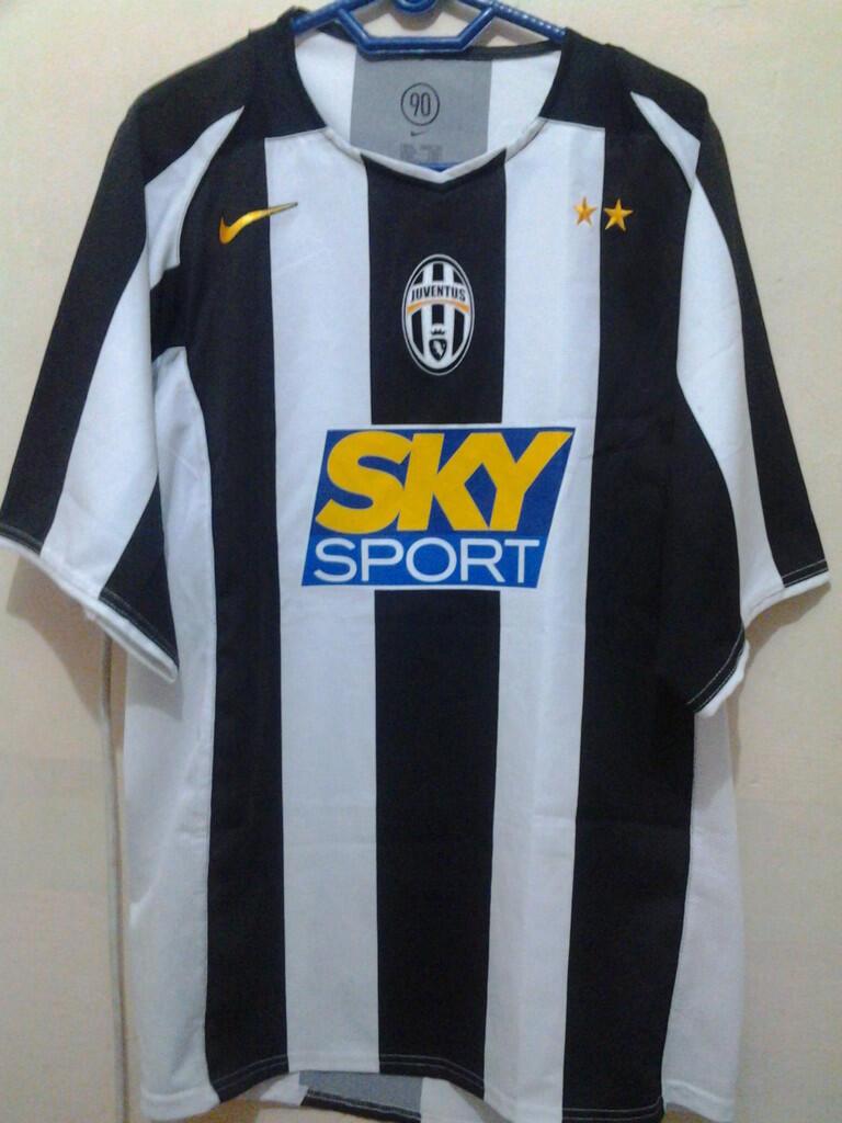 WTS - Original Juventus Home 2004/2005 - Kolektor Masuk