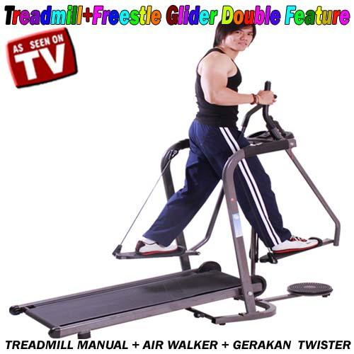 TREADMILL+ FREESTYLE GLIDER DOUBLE FEATURE Pin BB 2A6D5B30