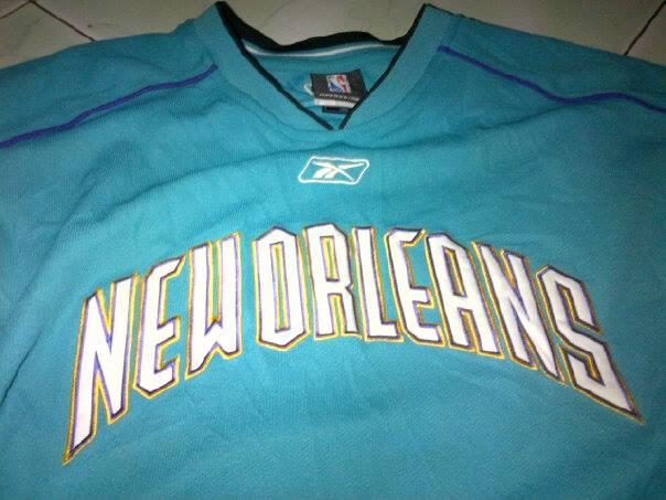 Sweater Jersey New Orleans Hornets Official Apparel NBA