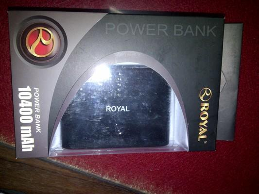 Promo Powerbank Royal 4 in 1 kapasitas 10400 mAh