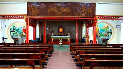 Gereja Berarsitektur Cina