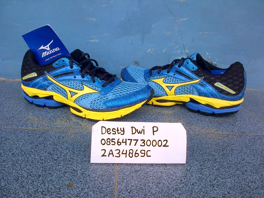 Sepatu Mizuno Wave lightning rx, wave inspire9, wave legend, wave endeavor2