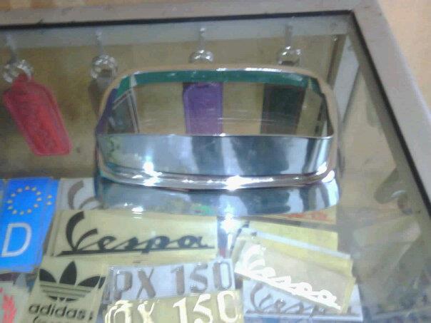 AKSESORIS FLSCREEN DAN PETLAMP/RING LAMPU VESPA LX DAN VESPA S