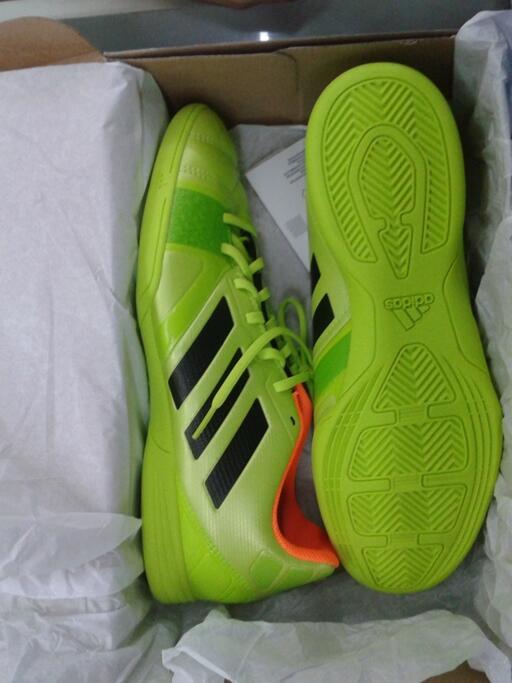 Jual sepatu futsal Adidas Nitrocharge 3.0 in samba atau hijau stabilo original