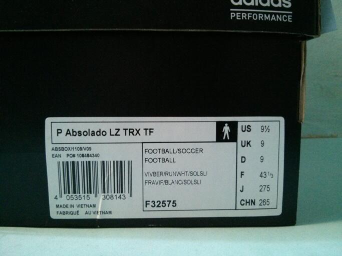 Jual sepatu futsal Adidas Predator Absolado lz II TRX TF samba pink original