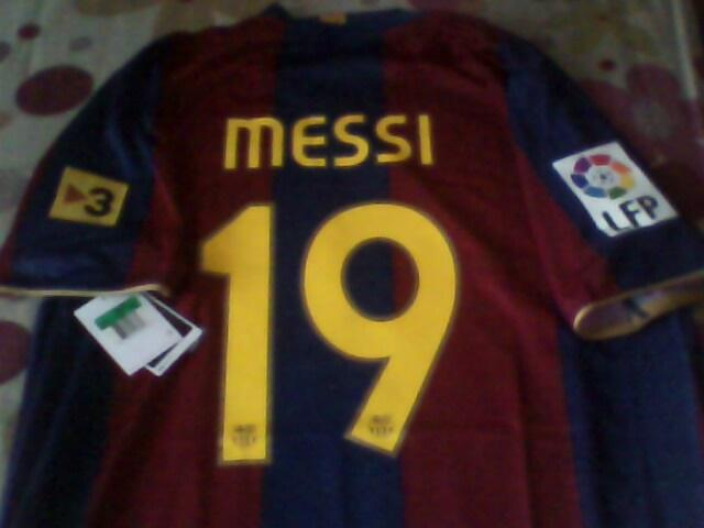 JUAL JERSEY BARCELONA 2007/08 HOME SIZE XL MESSI