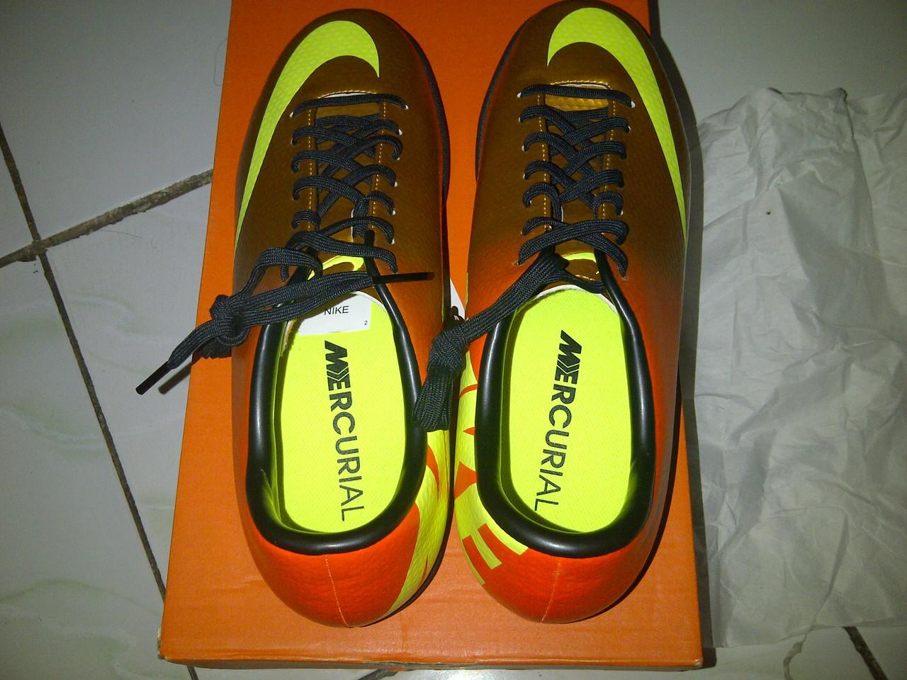 Nike Mercurial Victory iv sunset ic ori size 42
