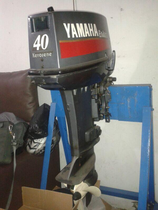 Terjual yamaha outboards motor tempel e40xmhl 40pk enduro for Yamaha enduro 40 hp outboard