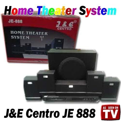 Home Theater System J&E Centro JE 888 Pin BB 2A6D5B30