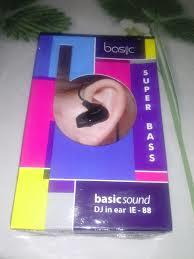 [stary] READY STOCK Basic Earphone IEM IE88, IE77HD, IE5 99HD, Earfoam, Eartips BNIB