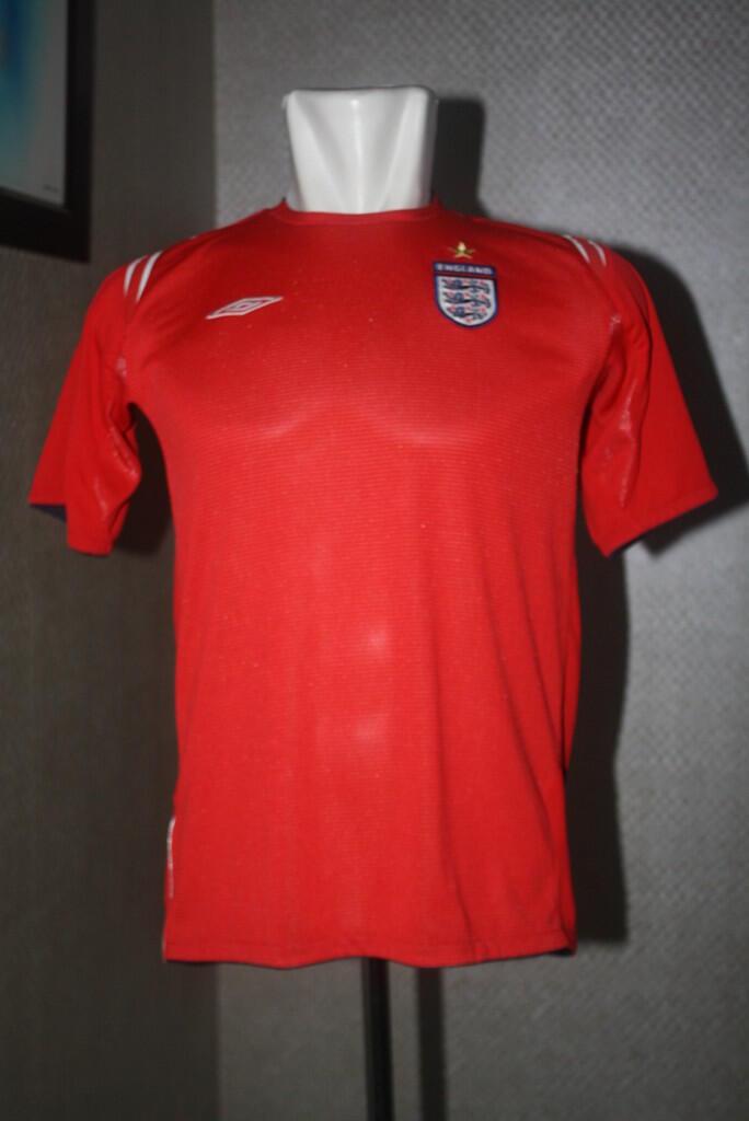 jersey england 2004 -2006 mint - bisa barter