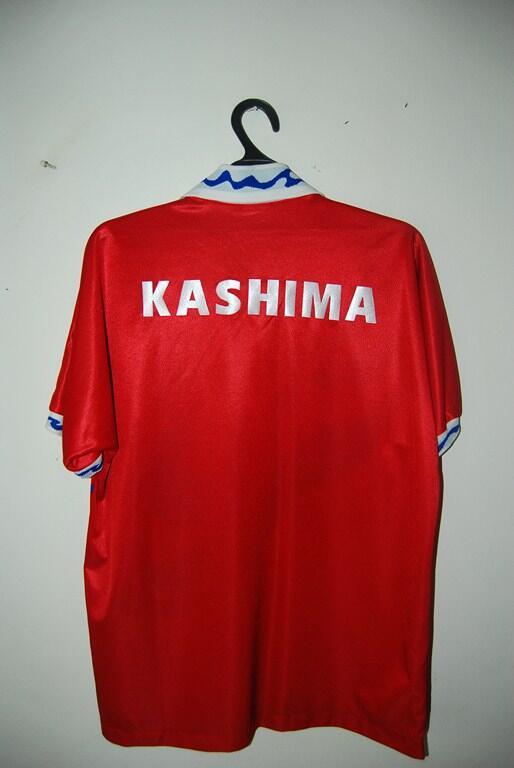 Lelang Kilat Jersey Kashima Antlers RARE !! OB Rendah