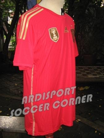 [Ready Stock] Jersey SPANYOL World Cup 2014 Grade Ori
