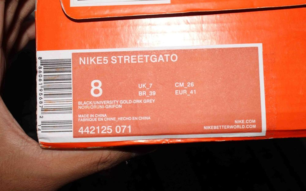 JUAL NIKE 5 STREET GATO