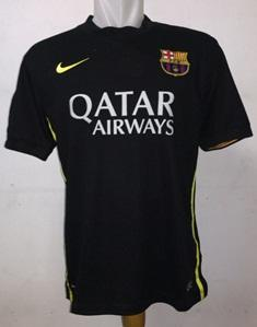 Ready Stock Jersey Barcelona 3rd [ black ] With All Player & Custome Name Ready !!!