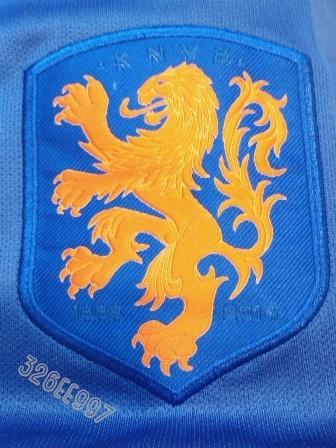 Ready Jersey Official Holland Away Player Issue [ World Cup 2014 ]
